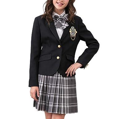 723f4903ee3 Amazon | [DECORA PINKY'S] 卒業式 小学生 女の子 スーツ (フォーマル ...
