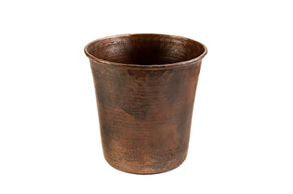 Etonnant Premier Copper Products TC11DB Hand Hammered Copper Trash Can, Oil Rubbed  Bronze