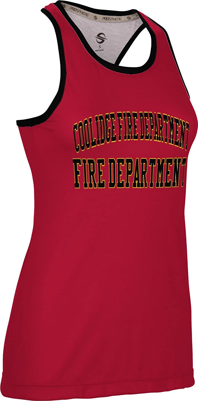 ProSphere Women's Coolidge Fire Department Crisscross Loose Training Tank