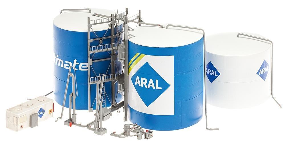 Faller 130485 ARAL Oil Tank Farm HO Scale Building Kit