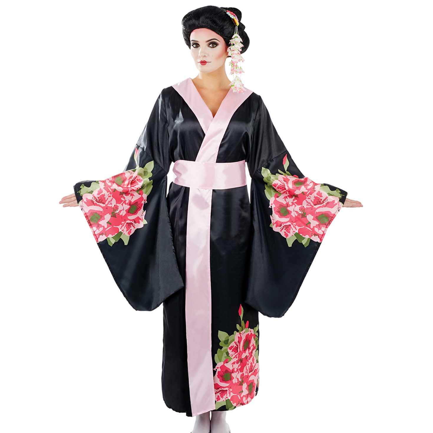 Fun Shack Costume Disfraz Geisha Kimono XX-Large Womens: Amazon ...