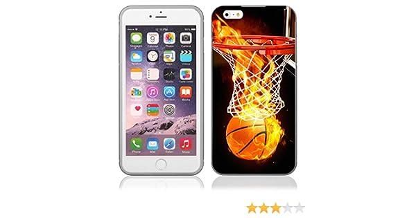 OOH!COLOR® BUMPER para HUAWEI P8 LITE Funda Baloncesto Basketball ...