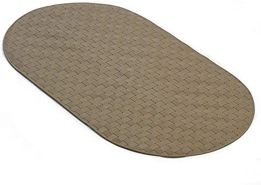 Antibacterial Mildew Resistant//Machine Washable//BPA Freen-Toxic Non-Slip Shower Mats with Suction Cup and Hole Newthinking Bath Mats