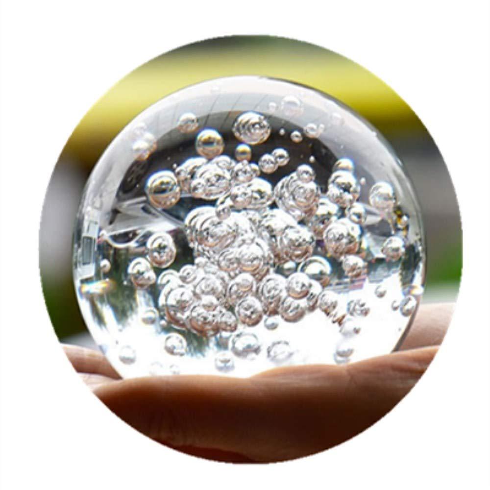 Cristal Billes de verre fontaine à eau bulle boule feng shui verre décoratif boules Maison intérieur Fontaine à Eau Figurines (60mm) taiyuan