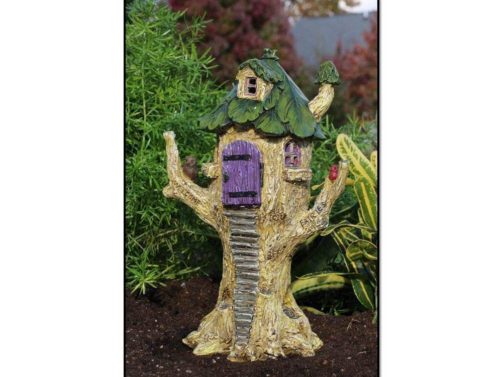 Miniature Dollhouse FAIRY GARDEN - Whimsy Tree House - Accessories