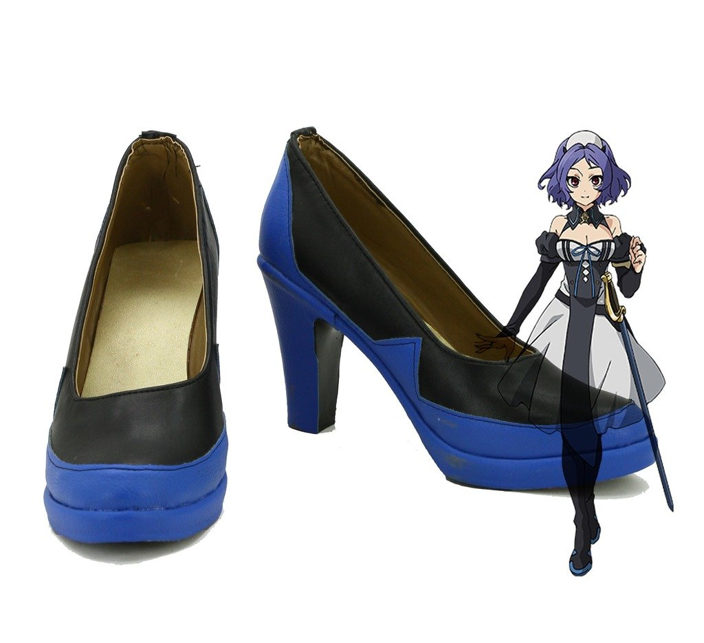 Seraph of the End Anime Chess Belle Cosplay Shoes Boots Custom Made