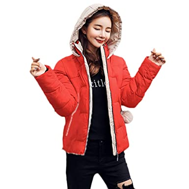 BETTERUU UFACE Women Winter Warm Faux Fur Hooded Thick Warm Slim Jacket Overcoat Outcoat Coat