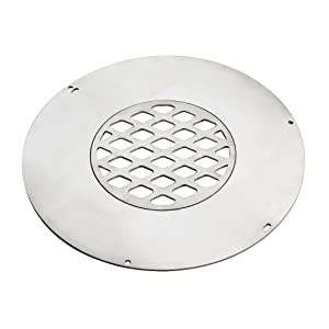 Skyflame Stainless Steel Cooktop with Center Grill Grate for Large Big Green Egg, Kamado Joe Classic Other 18 inch Ceramic Grills