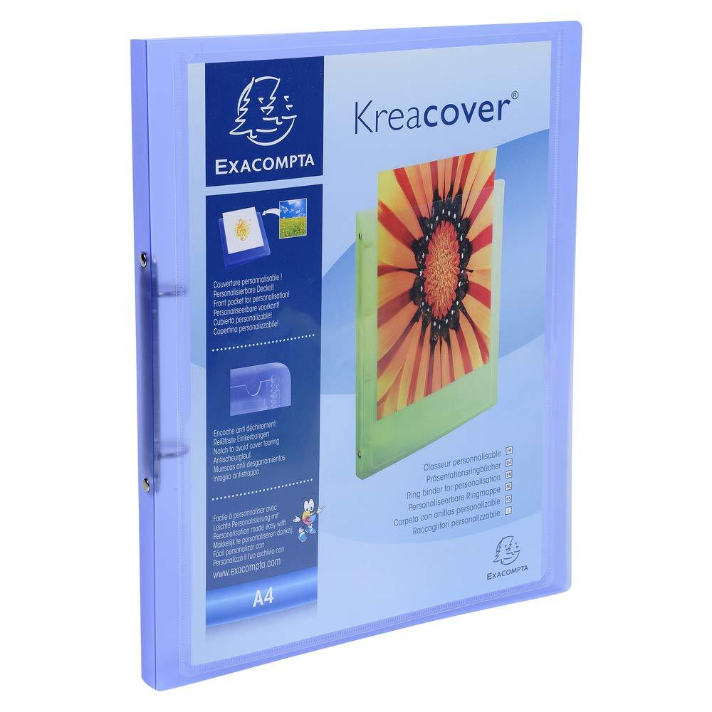 Exacompta Kreacover A4 PP Soft Chromaline Ring Binder 20 mm