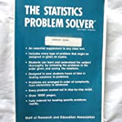 amazon com statistics problem solver problem solvers solution  customer image