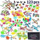 Amy&Benton 125 PC Treasure Prize Box Toys, Pinata Filler Toy Assortment for Classroom Teacher,Kids Birthday Party Favors