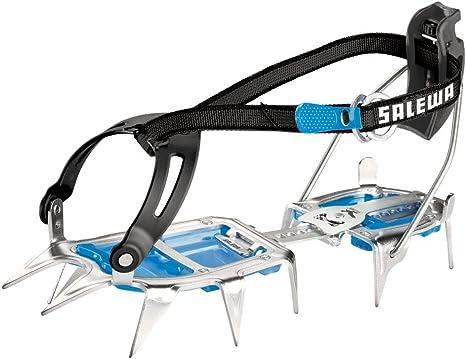 Taglia Unica Salewa Alpinist Alu Walk Ramponi Unisex Adulto Steel//Blue
