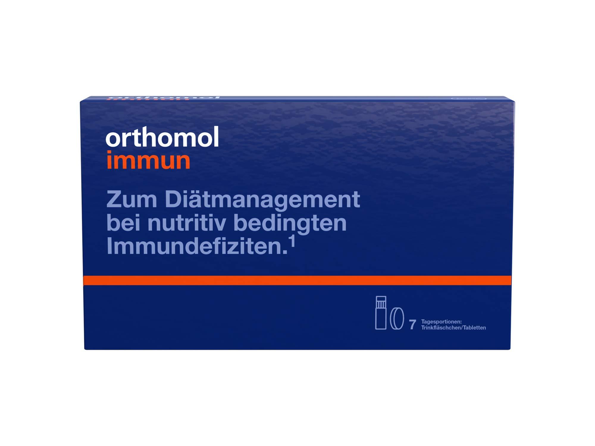 Orthomol immun FlŠschchen/Tabletten, 7 days Portionen
