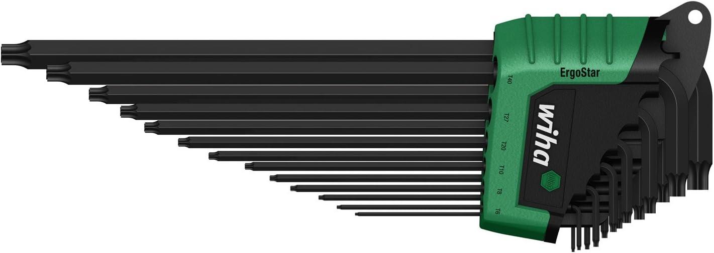 Wiha Stiftschl/üssel mit Schl/üsselgriff TORX PLUS/® br/üniert 26187 15IP x 45 mm