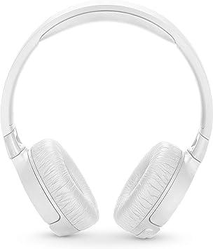 Amazon Com Jbl Tune 600btnc Noise Cancelling On Ear Wireless Bluetooth Headphone White Electronics