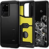 Spigen ACS00716 Tough Armor Designed for Samsung Galaxy S20 Ultra Case (2020), Black