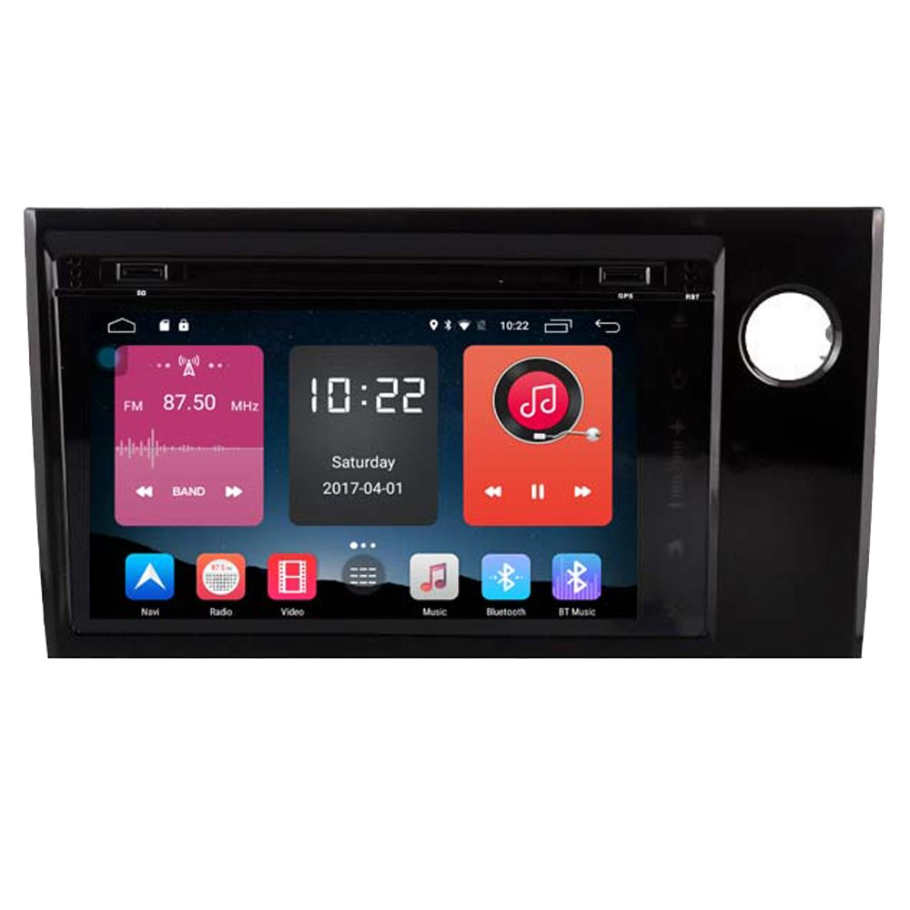 Autosion 8 inch In Dash Android 6.0 Car DVD Player Radio Head Unit GPS Navigation Stereo Gray for Honda BR-V 2015 2016 2017 Support Bluetooth SD USB Radio OBD WIFI DVR 1080P