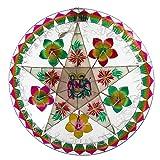 Gift Ko Handmade Nativity/Flower Parol Christmas Lantern 29 inch Multicolored