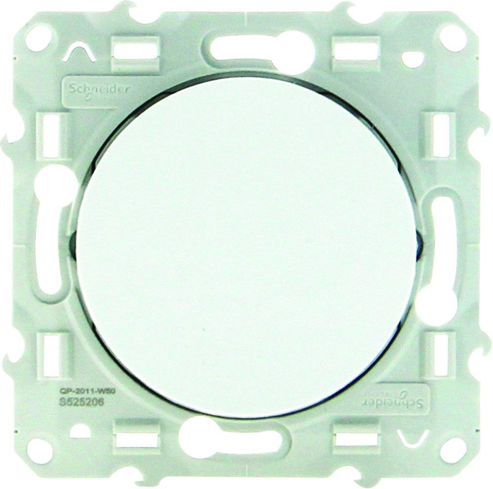 Schneider Electric Odace Sc5s52a206 Single Push Button 230 V White