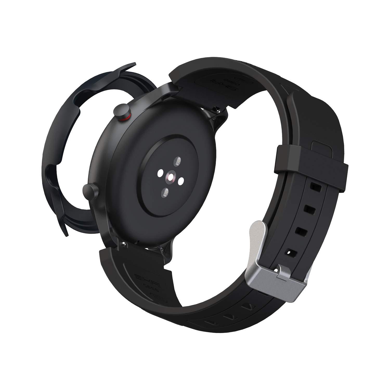 SIKAI CASE Coque de Protection Ultra Fine Compatible avec Amazfit GTR 47 mm Smartwatch PC Rigide Anti-Rayures Slim Bumper de Protection