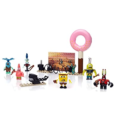 Mega Bloks SpongeBob SquarePants Post-Apocalypse Figure Pack: Toys & Games