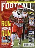 New Current Beckett Football Monthly Price Guide Card Value December 2017 Kansas City Chiefs Rookie Kareem Hunt