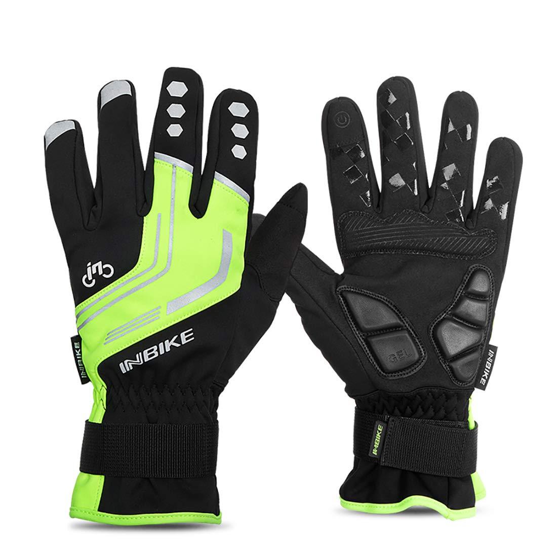 Surface MAX Fahrradhandschuhe, Touchscreen, Mountainbike, Vollfingerhandschuhe, Eva-Handballenauflage, Touchscreen-Handschuhe für Männer und Frauen, Fahrradausrüstung, mehrere Optionen