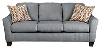 Ashley Furniture Signature Design   Hannin Sleeper Sofa   Queen   3 Seat  Contemporary Couch With