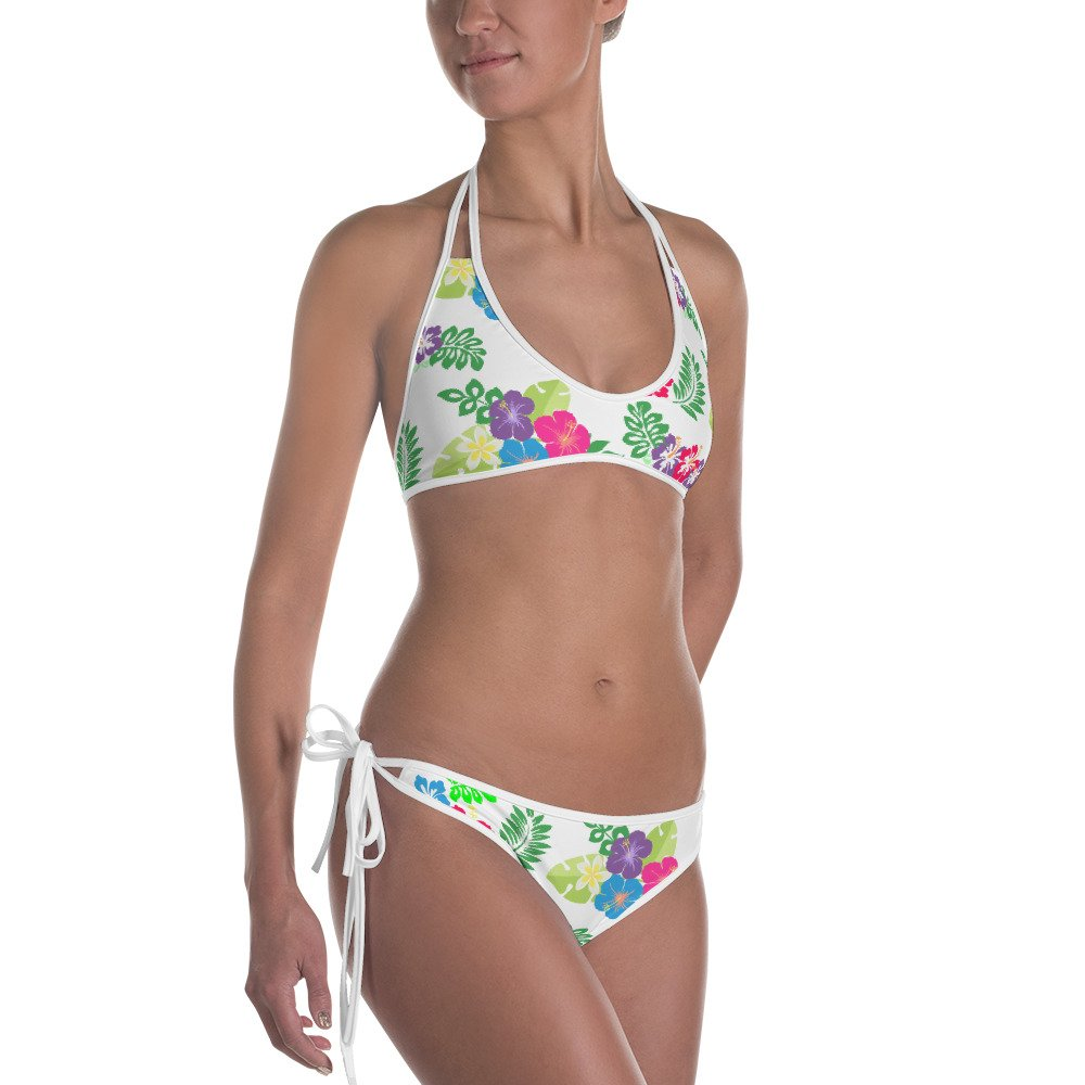 Amazoncom Arkansas Made Hibiscus Flower Bikini Clothing