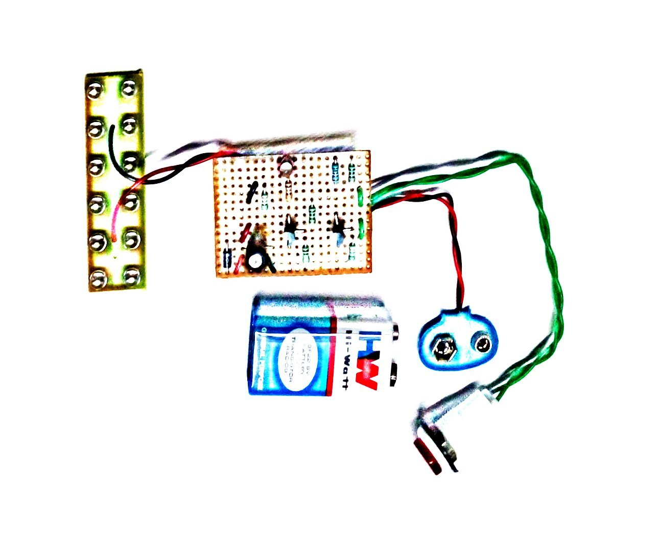 Pke Light Laser Switch Ldr Circuit Complete Project Working Model Electronics