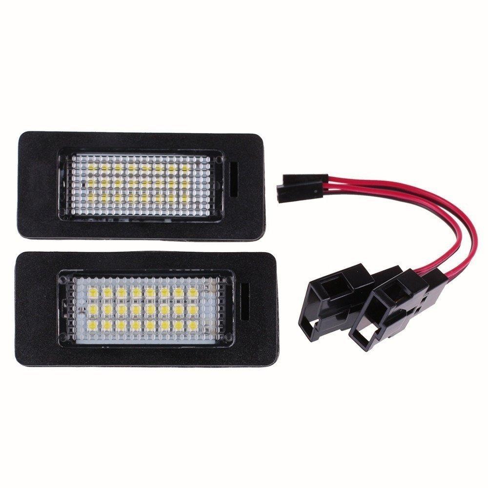KATUR - 1 par de luces LED para matrí cula