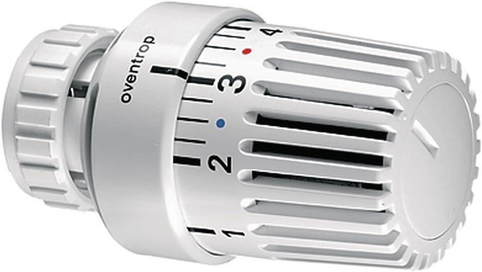 conector clamp Oventrop OV Cabeza termost/ática UNI LV con sonda Fl.probe blanco con cero