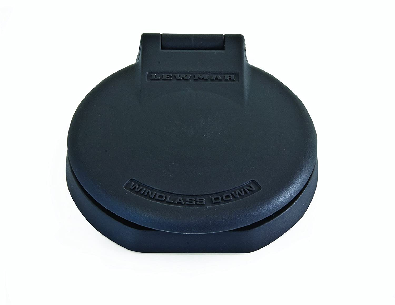 Lewmar Deckschalter / Fußschalter Kunststoff up grau 68000884 LEW68000884
