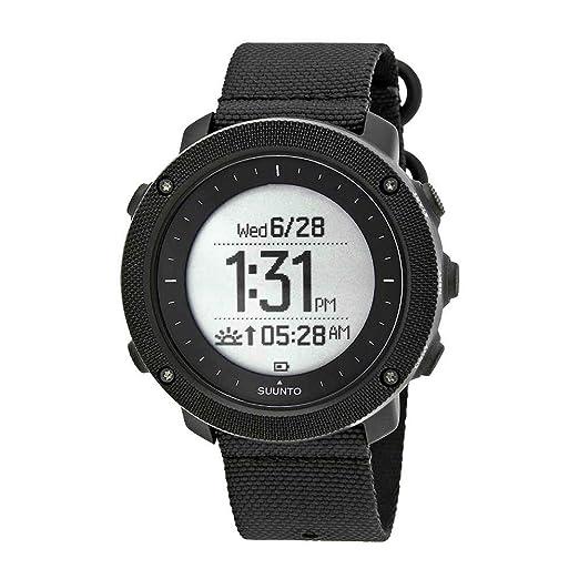 Suunto Traverse Alpha Stealth - GPS pesca y caza reloj ss022469000: Amazon.es: Relojes