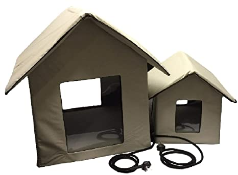 Petnap - Caseta de Mascotas con calefacción para Perro, Gato ...