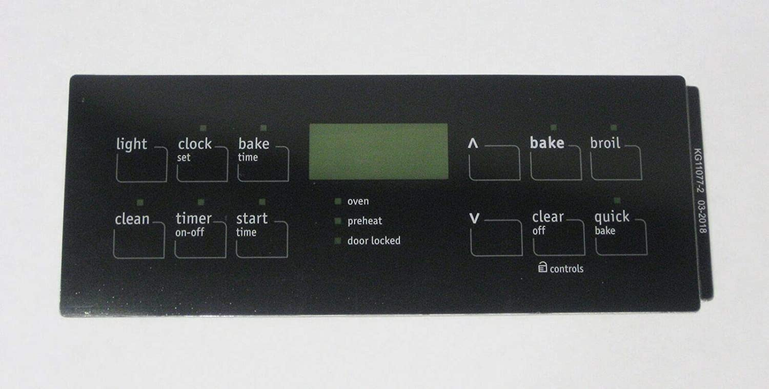Oven Clock Overlay Pad 316419353 for Electrolux Frigidaire ERC Range Control