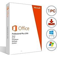 Microsoft Office 2016 Pro Plus 32/64bits Multilenguaje Licencia e instrucciones