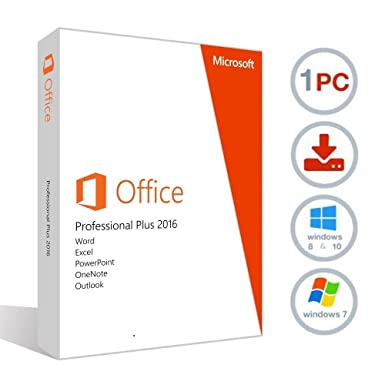Microsoft Office 2016 Professional Plus Integrated October 2017