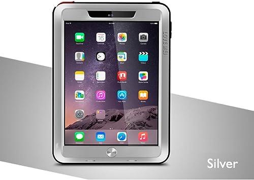 love Mei Cover for iPad Air 2, Aluminum Metal Waterproof ...