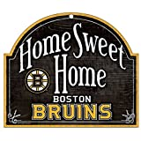 Wincraft NHL Boston Bruins 30167010 Wood Arched Sign, 10-Inch X 11-Inch
