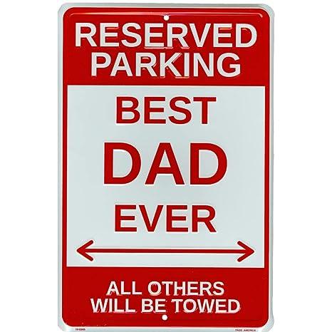 Amazon.com: Tags America - Señal de estacionamiento con ...