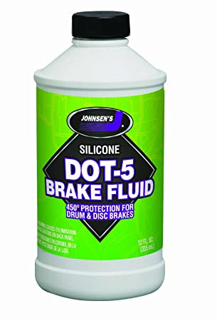 Dot 5 1 Brake Fluid >> Amazon Com Johnsen S 7012 6 Silicone Dot 5 Brake Fluid 12 Oz