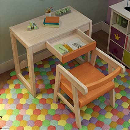 Amazon.com: NAN Liang Childrens Study Table Set can be ...