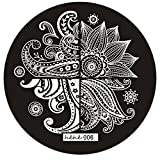 Nail Art Template, Ikevan Christmas DIY Hot Pattern Nail Art Image Stamp Stamping Plates Manicure Template Nail Art Plate (06)