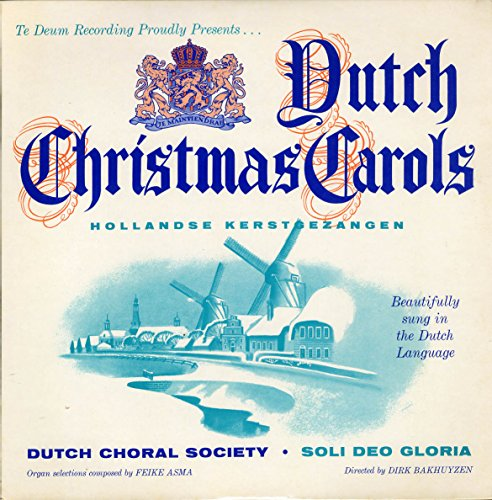 [LP Record] Dutch Christmas Carols - Hollandse Kerstgezangen