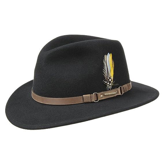 b44d45ec3ee25 Stetson Hamlin VitaFelt Traveller Hat felt wool (XL (60-61 cm ...