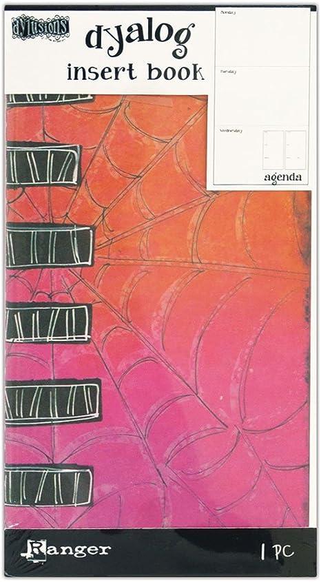 Multicolor Dyan Reaveleys DYT60499 Dylusions Dyalog Insert Book Agenda