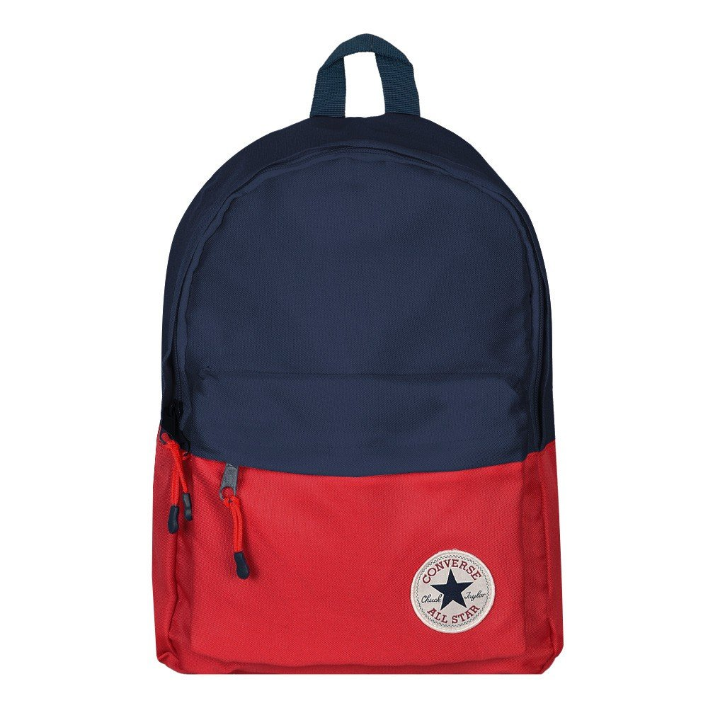 f7eec872c8 Galleon - Converse Little Big Boy s All-Star Navy Red Rucksack Backpack