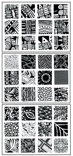 sax-texture-imprinting-mats-1-x-1-inches-set-of-36-assorted-designs