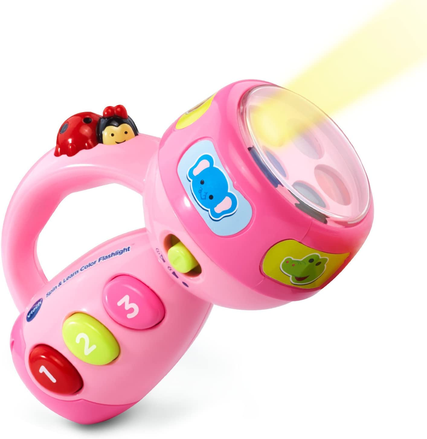 Spin and Learn Color Flashlight